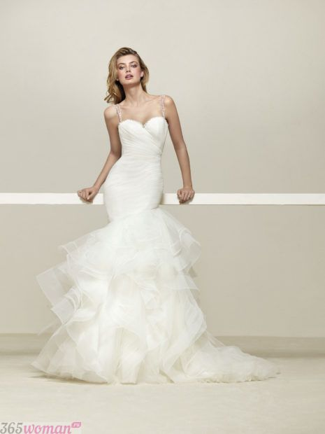 модные ткани для свадебных платьев
