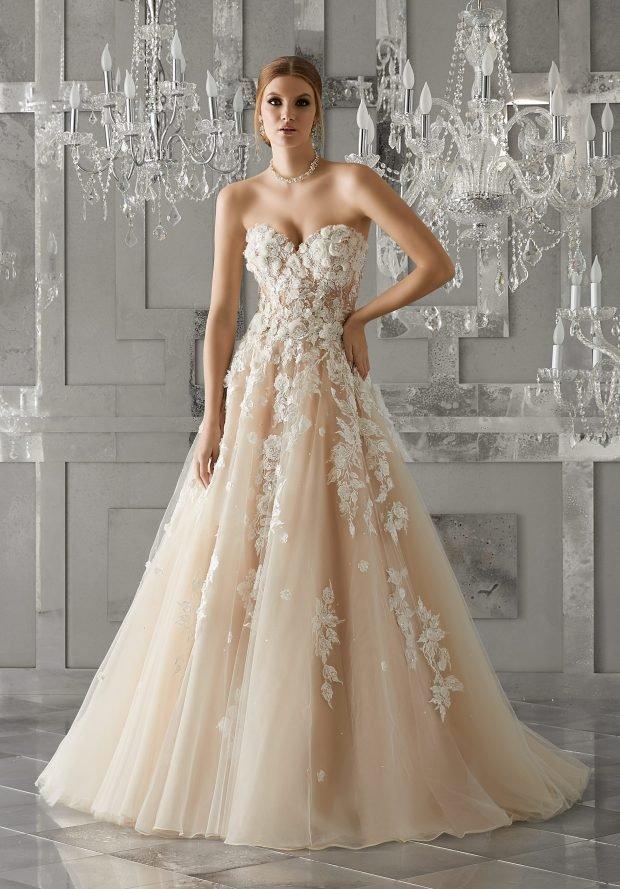 свадебные платья в пол: аксессуары