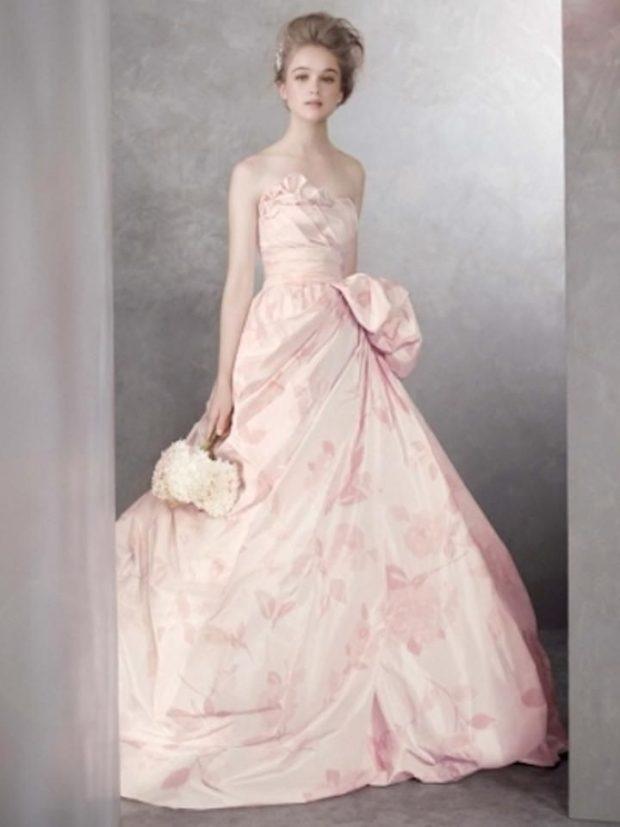длинные свадебные платья: классические