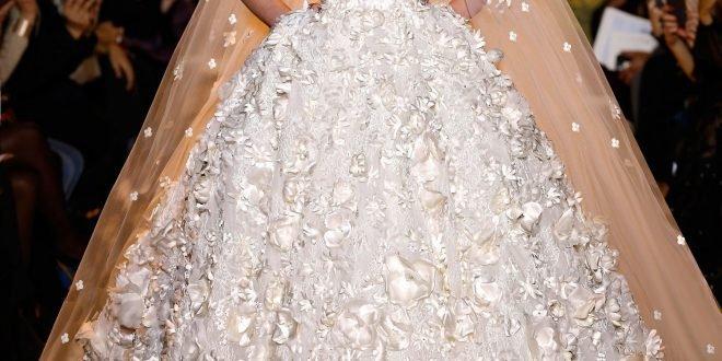 Длинные свадебные платья в пол 2018 2019: фото.