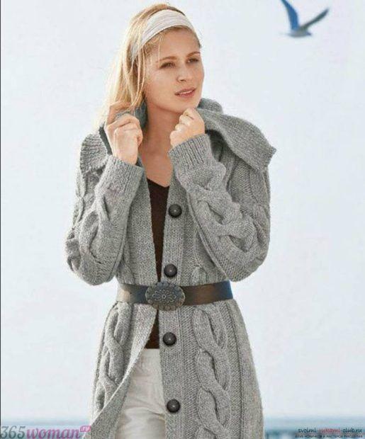 серый кардиган мода осень зима 2018 2019