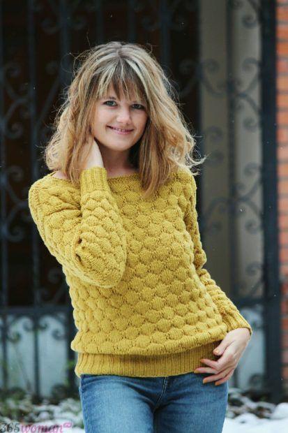 яркий вязаный свитер мода осень зима 2018 2019