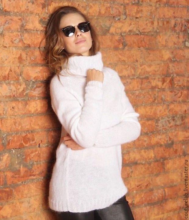 теплый вязаный свитер осень зима 2019 2020