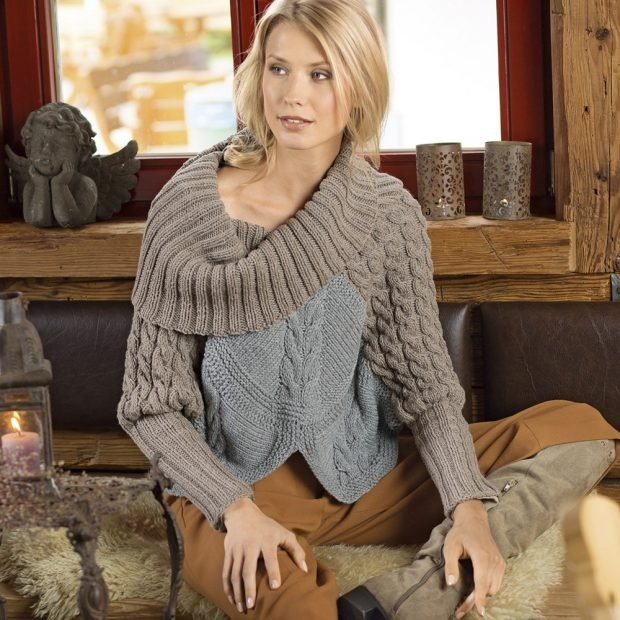 модные вязаные свитера осень зима 2018 2019
