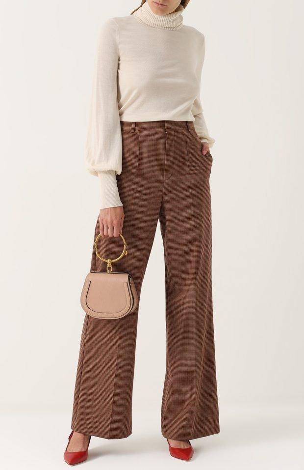 широкие брюки для базового гардероба