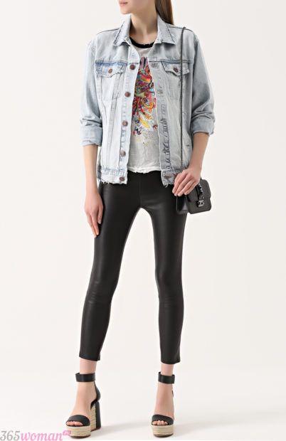 узкие черные брюки для базового гардероба 2018