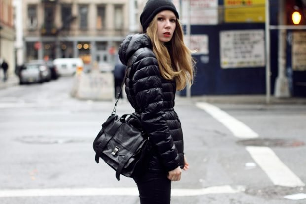 базовый гардероб 2018 в темных оттенках для девушки