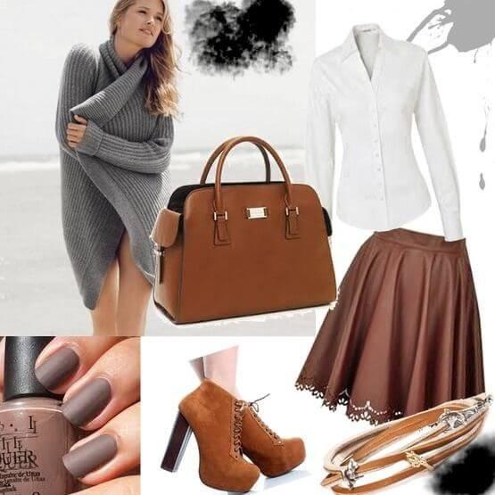 базовый гардероб: аксессуары в коричневой гамме