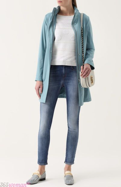 классические синие джинсы для базового гардероба 2018