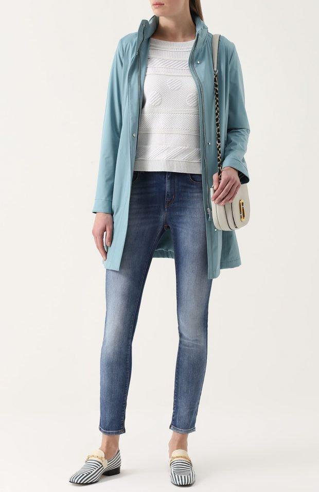 классические синие джинсы для базового гардероба 2020