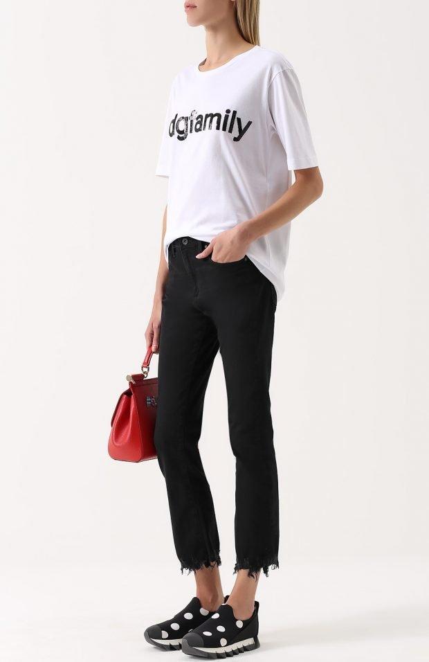 Базовый гардероб 2020: черные классические брюки
