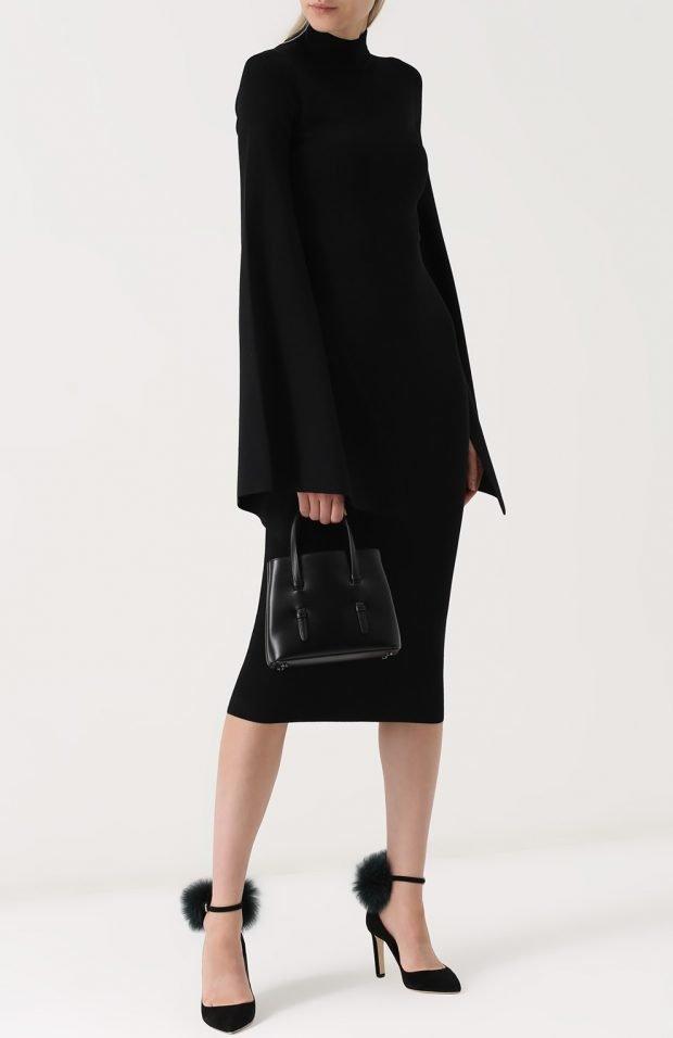 элегантные туфли с мехом для базового гардероба