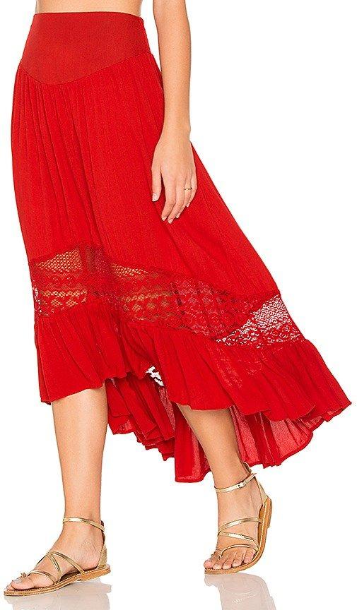 летние юбки с асимметрией