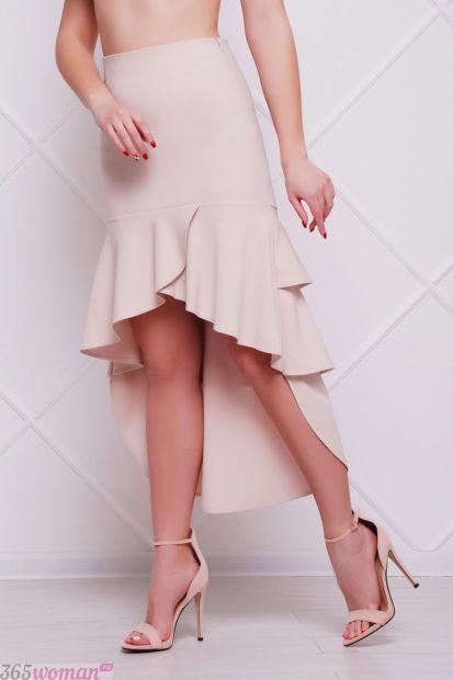 модные юбки трампет