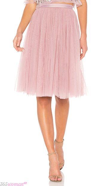 летние пышные юбки