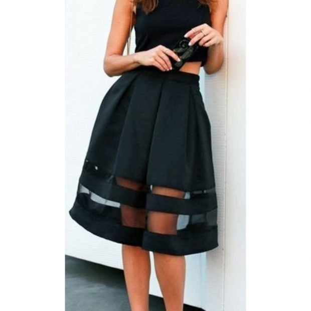 летние модные юбки