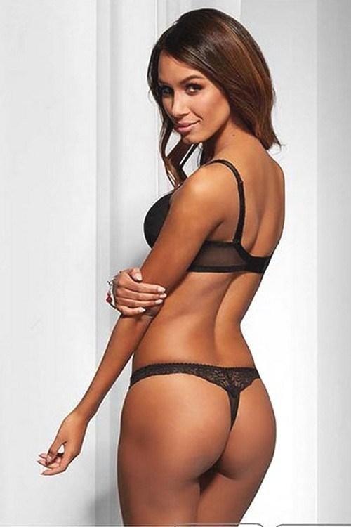 сексуальное нижнее белье черного цвета