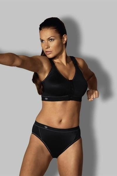 модное спортивное нижнее белье черного цвета