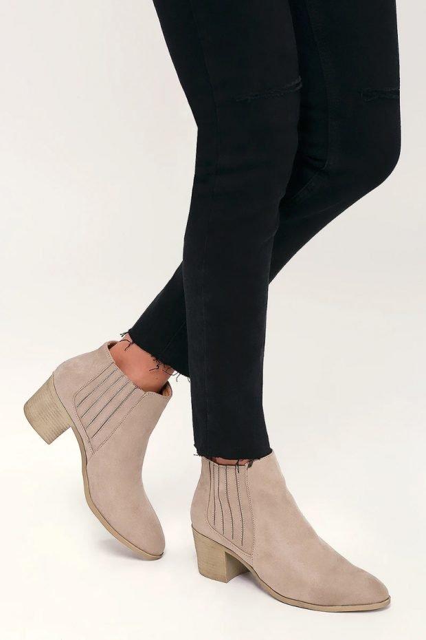 Модные туфли осень-зима 2021: молочные