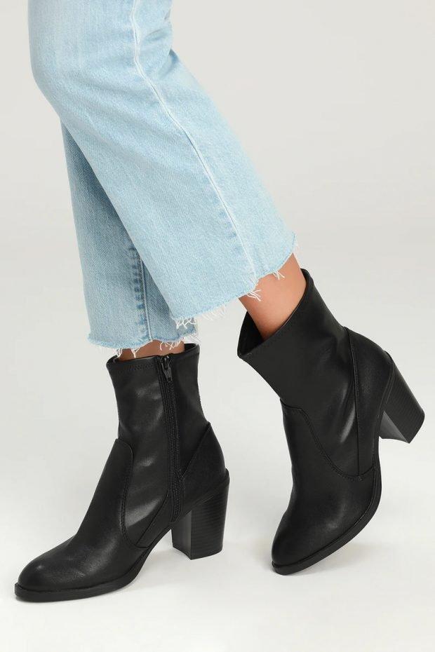 Модные туфли осень-зима 2020: черные