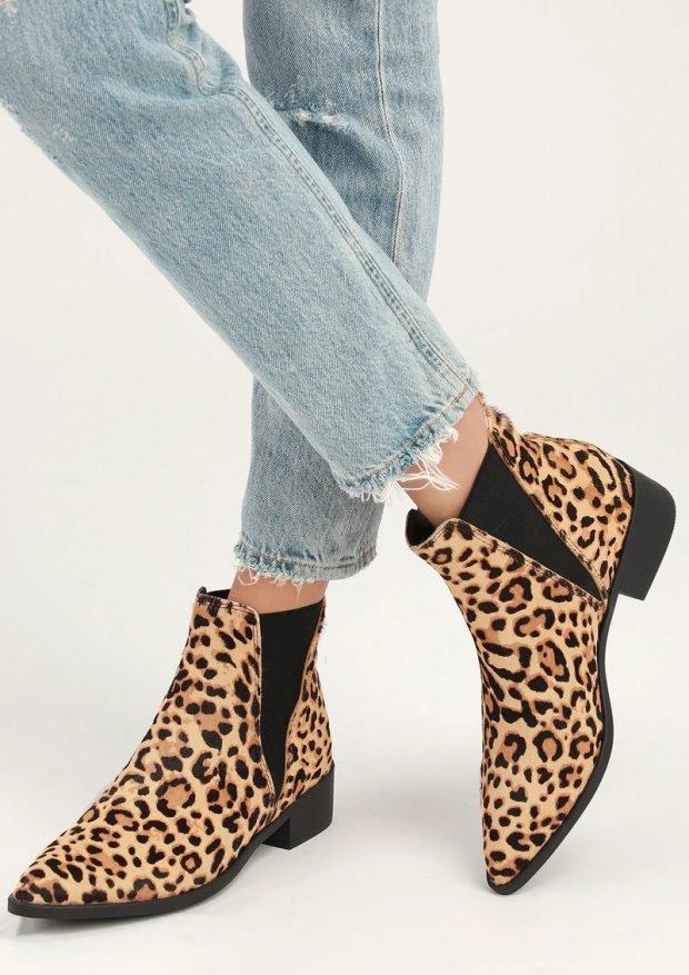 Модные туфли осень-зима 2020: леопардовые