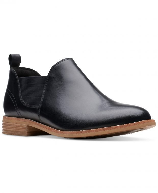 женские ботинки осень-зима 2021: черные