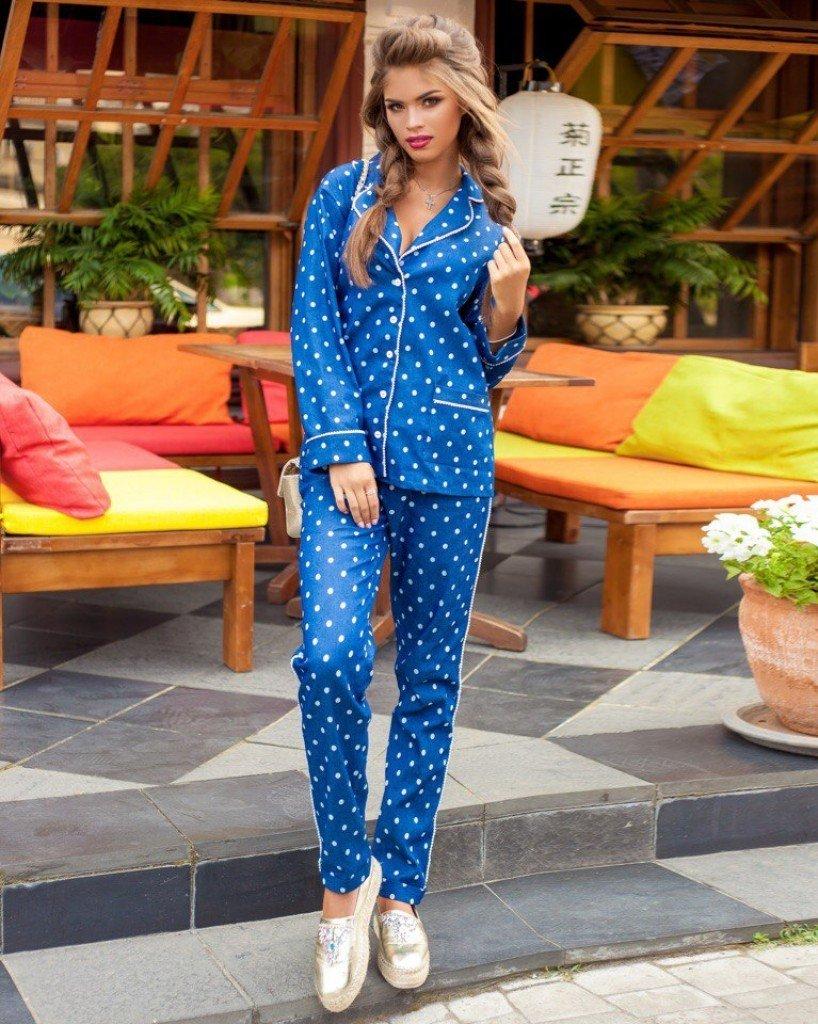 модные костюмы в пижамном стиле