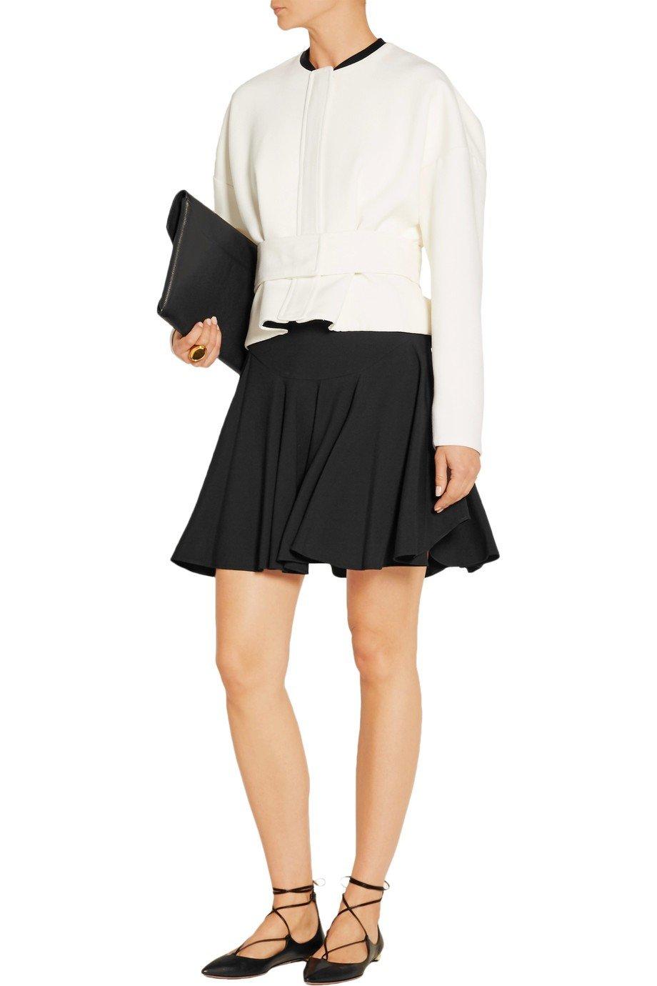 стильный белый укороченный пиджак женский 2018 фото новинки