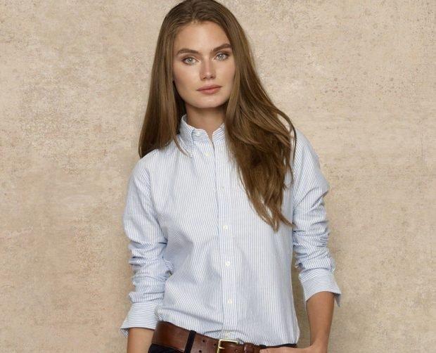 модные женские рубашки 2019 2020 фото тенденции в полоску