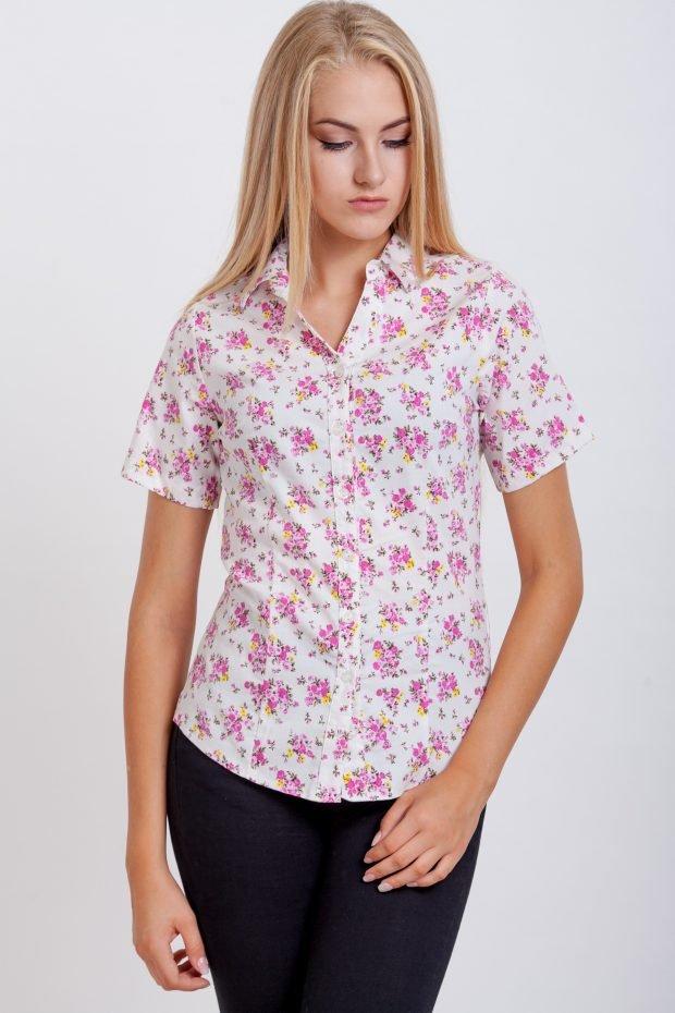 женские рубашки модные тенденции