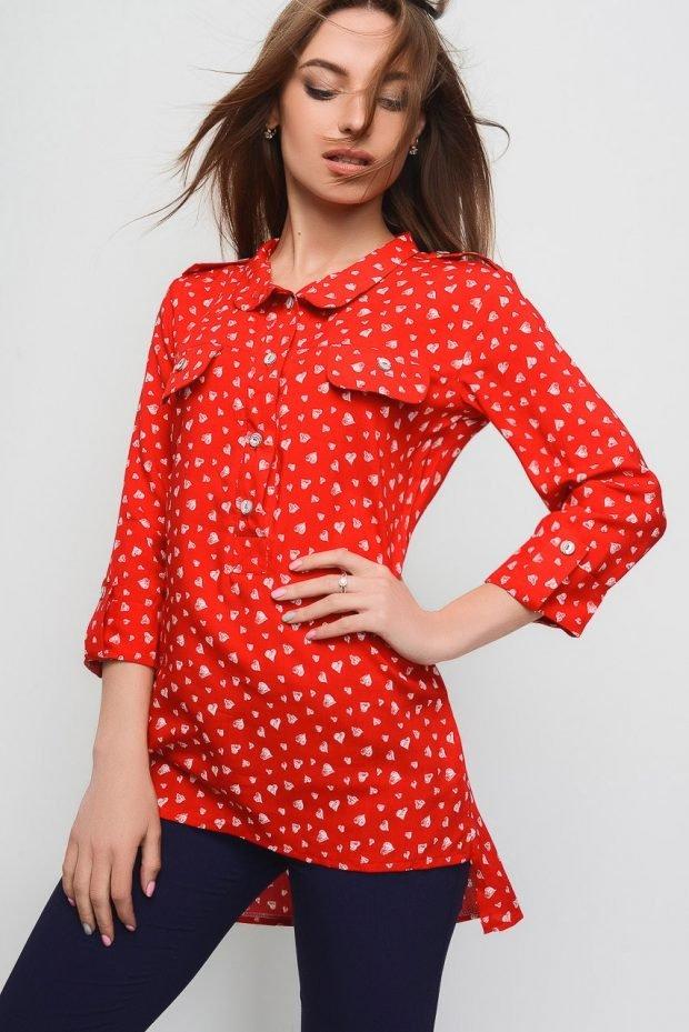 женские удлиненные рубашки свободного кроя