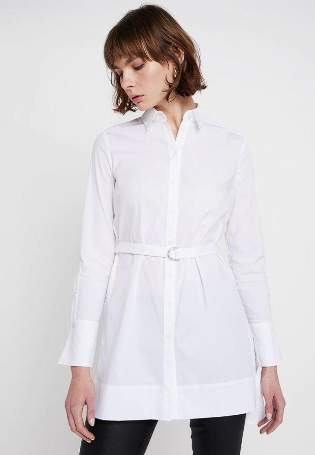 белая платье