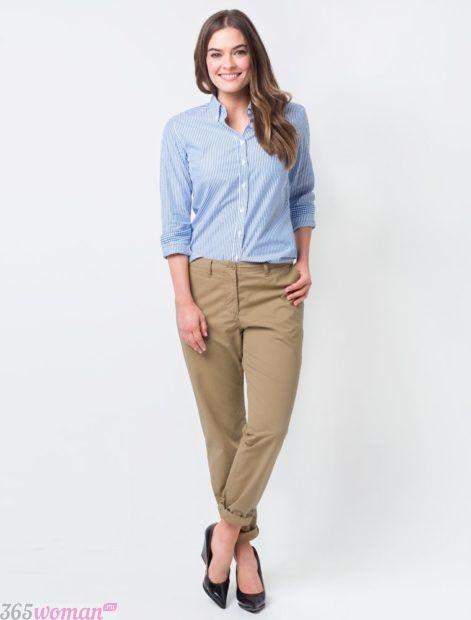 цвета укороченных брюк