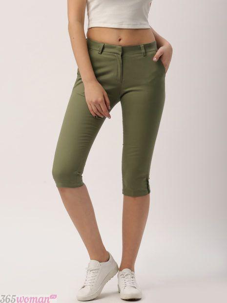 брюки капри с чем носить