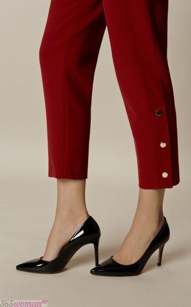 с какой обувью носить укороченные брюки