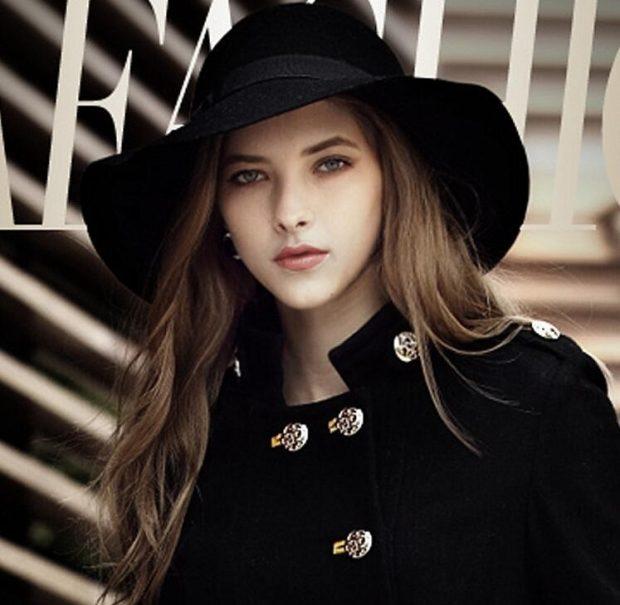 головные уборы осень зима 2020 2021: черная широкополая шляпа