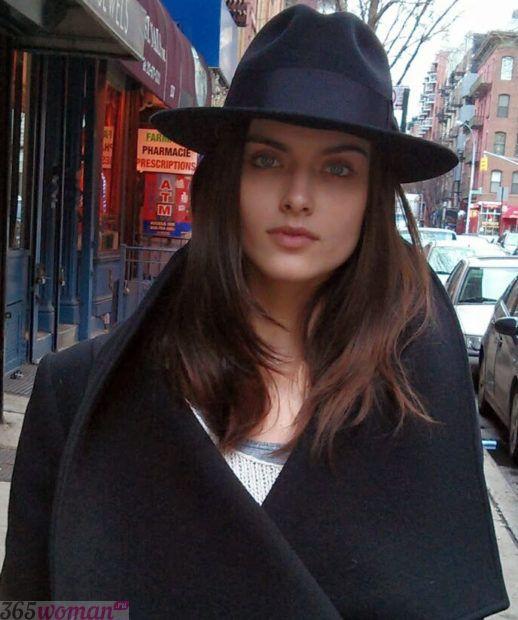 черная шляпа федора