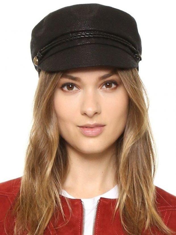 черная кепка женская