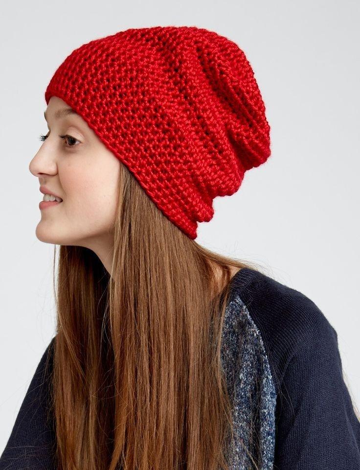 красная шапка бини