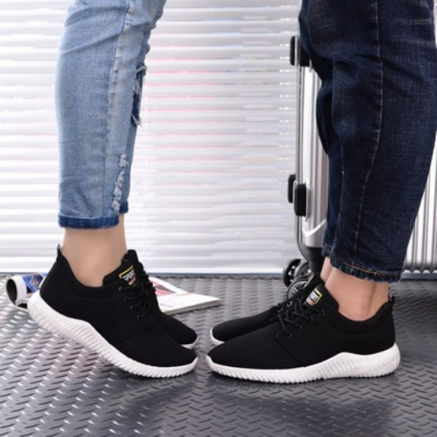 черные кроссовки унисекс