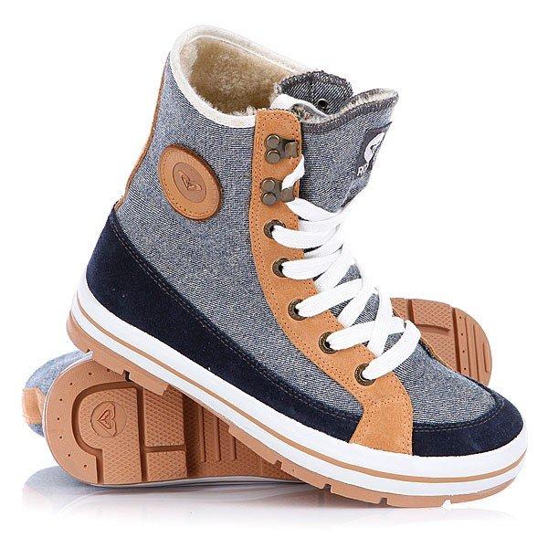 серо-бежевые высокие кроссовки