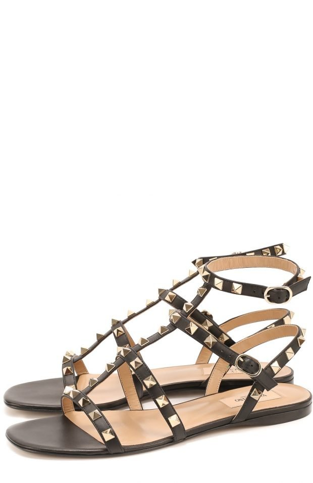 гладиаторские сандалии с шипами