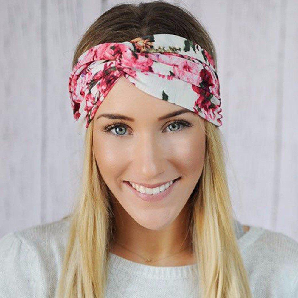 разноцветная повязка на голову
