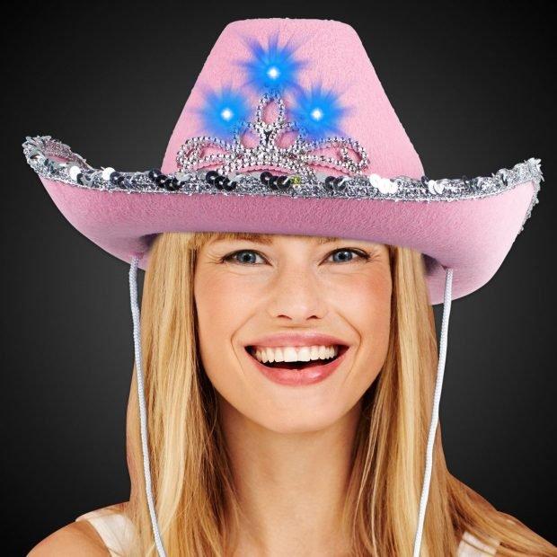 роковая ковбойская шляпа с украшением