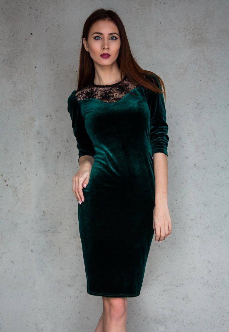 платья из велюра до колен фото здесь так внешности