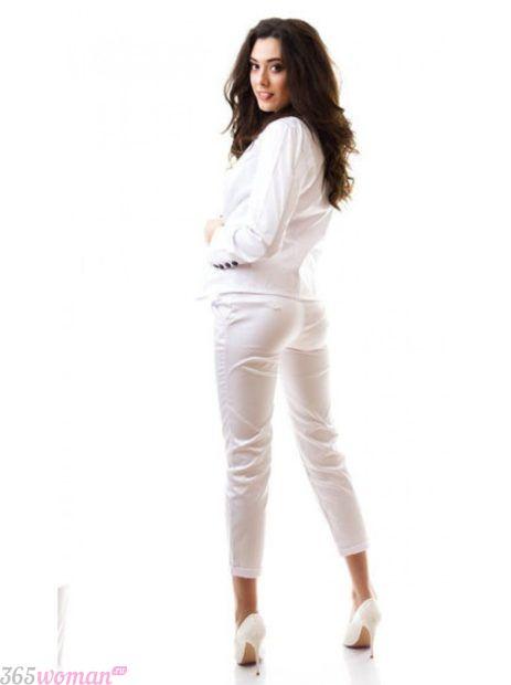 белый костюм спортивный атласный женский 2018