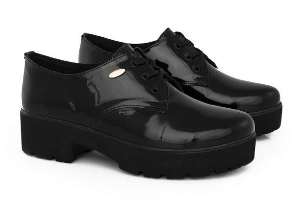 невысокие ботинки на тракторной подошве