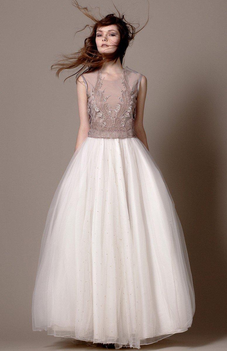 белая длинная юбка пачка