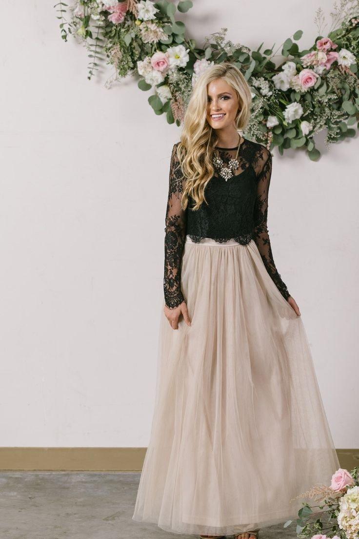 длинная юбка пачка цвета пудры