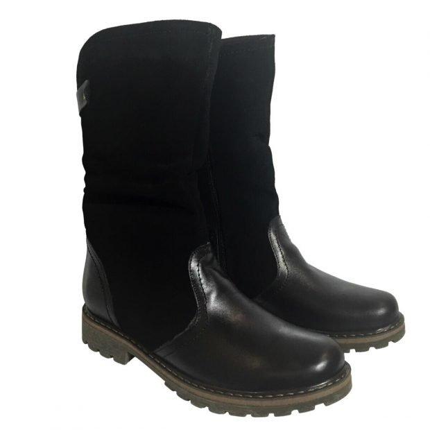 женская обувь осень зима 2019 2020: полусапожки из кожи и замши